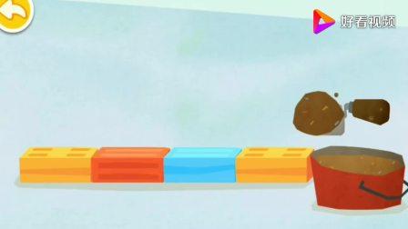 用雪糕和冰淇淋给小企鹅建个冰屋!小企鹅非常开心__宝宝巴士游戏