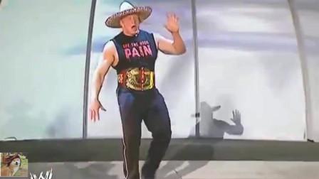 这真的是WWE野兽布洛克莱斯纳?