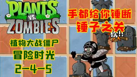 【小臣实况】手快被打断了的锤子之关-植物大战僵尸冒险时光-(2-4-5)