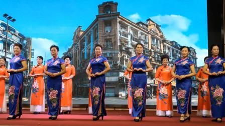 莲步轻移女人花:衡阳韵姿模特旗袍秀-《上海谣》