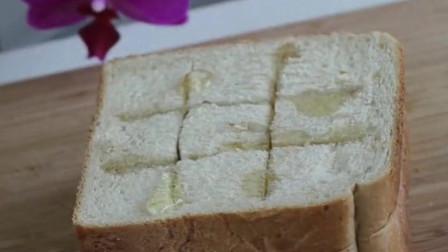 超级好吃的日式奶油蜂蜜面包,香甜酥脆,自己动手都能做出美味