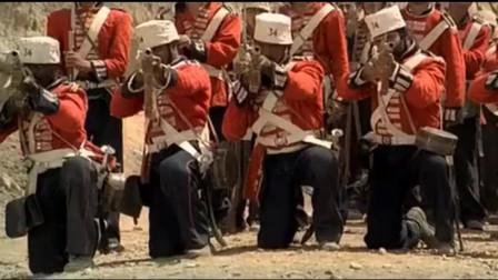 大批阿富汗骑兵开始反击,遭英军用大炮和洋枪对付