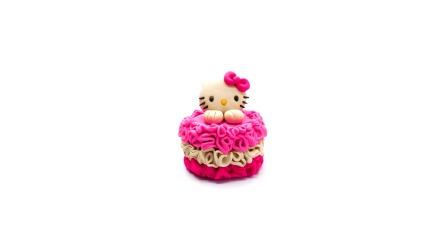 萝卜玩具宝宝 亲子手工制作,超级可爱的小猫咪蛋糕