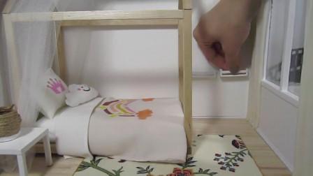 微世界DIY:迷你卧室布置
