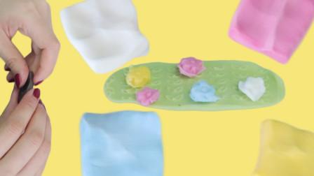 日本食玩彩色糖果边吃边玩
