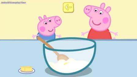 猪妈妈叫佩奇做蛋糕 佩奇准备的材料对了吗?小猪佩奇游戏