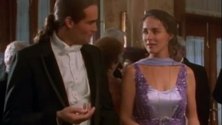 经典外国电影,国外富二代在名流宴会直接抢美女,旁边人看不下去了