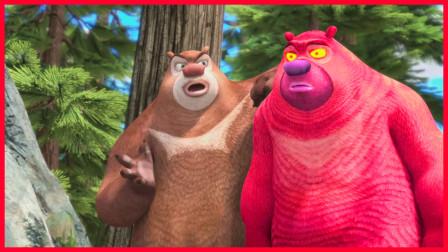 熊出没丛林飞车:光头强让熊大和熊二两兄弟比赛,猜猜结果谁会赢?