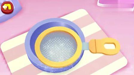 游戏宝宝巴士制作蛋糕须要先制作一块面包