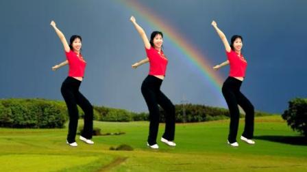 阿采原创广场舞 健身操教学《复制一个我爱你》专减肚子,瘦到尖叫