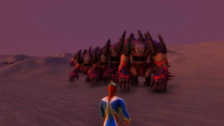 史诗战争模拟器:1个高斯奥特曼VS一百名恶魔,谁会取胜?