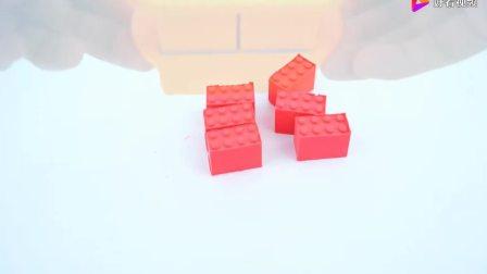 太空沙彩泥创意手工制作小猪佩奇的花园城堡