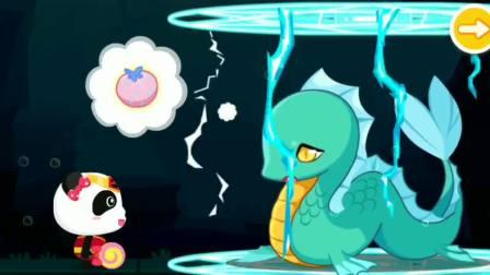 奇奇收集彩虹水果,获得原力宝石打败女巫?宝宝巴士游戏