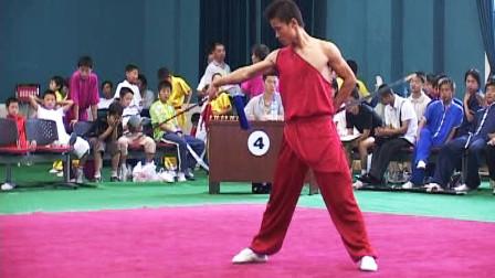 尘封赛事 2005年第五届全国武术馆校武术比赛 套路比赛 036 双刀