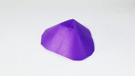 教你折纸火山口,宇宙探索系列折纸,儿童很喜欢