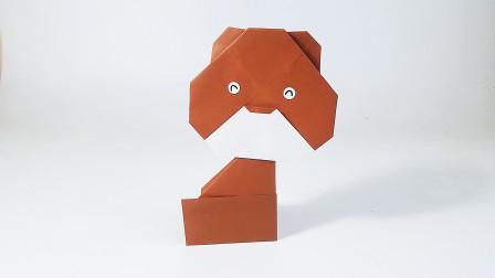 教你折纸熊,动物园系列折纸,儿童很喜欢