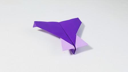 教你折纸尼基式纸飞机,特技飞行纸飞机,儿童很喜欢