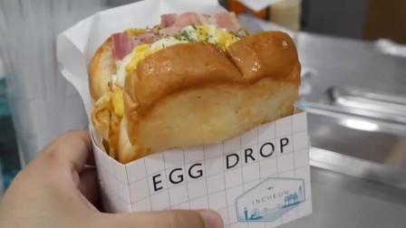 培根鸡蛋芝士吐司,虽然已经习惯油条稀饭,但是这样吃营养更全面