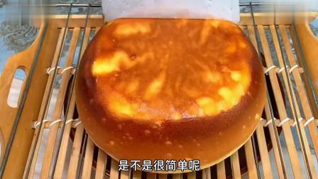 没烤箱,没打蛋器,没秤,详细解说电饭煲蛋糕做法,比买的还好吃!