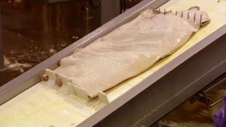 培根是如何制作出来的?老外实拍流水线生产流程,原料原来有这么多讲究