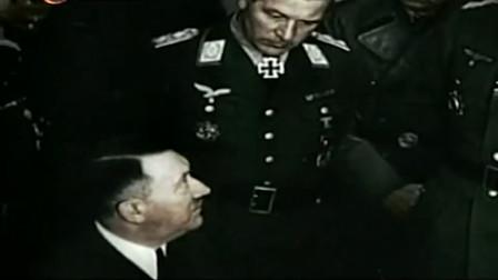 希特勒看到盟军潮水般的攻势,决心谋划一场反攻,其手下都惊呆了