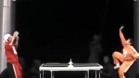 日本综艺《超级变变变》,乒乓球被你们玩坏了!