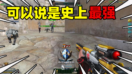 生死狙击:狙击枪里最良心的一把?没想到射速这么快伤害还高!