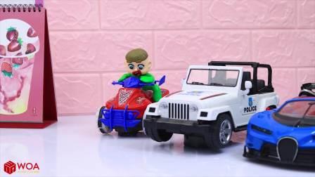 国外少儿时尚,小萌娃用饼干创意DIY汽车,汽车会动吗?