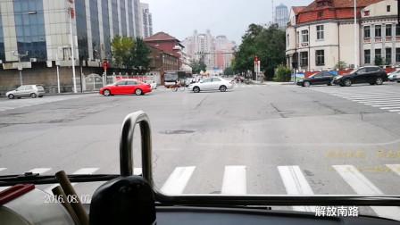 看城市变化,听城市声音——天津公交830行车视频,小白楼-贾沽道