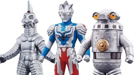 机器人也可以这么萌!泽塔奥特曼500软胶玩具 赛文加乌英达姆