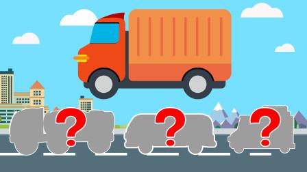 卡通汽车玩具拼图游戏 超有趣!