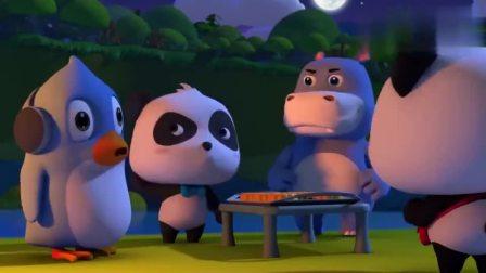 宝宝巴士:好多的月饼呀!真是太诱人了要有人看守才安全!