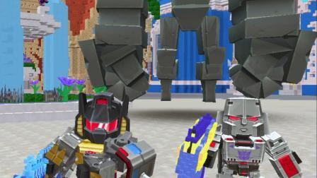 迷你世界:仙气狙击战僵尸王,还有熔岩巨人和远古巨人(一)