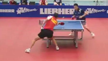 乒乓球赛事,当正手柳承敏遇上对拉狂魔托克奇,这样的比赛好看了!
