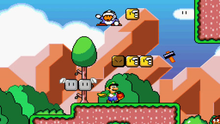 SMW The princess rescueⅡ Luigi is Journey part2