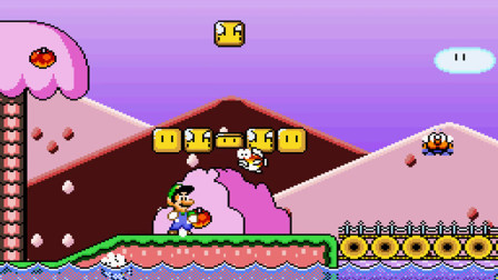 SMW The princess rescueⅡ Luigi is Journey part4