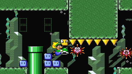 SMW The princess rescueⅡ Luigi is Journey part5