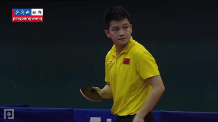 20130115直通巴黎第二阶段 第1天 陈玘vs樊振东 乒乓球比赛