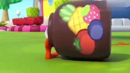 宝宝巴士:果酱洒了一地,壮壮的果酱面包会泡汤吗