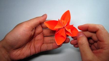 手工折纸花朵,简单又漂亮,男孩子都超喜欢