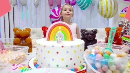 国外儿童时尚,小萝莉做蛋糕,快来看看吧