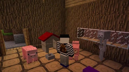 我的世界动画-找小猪挑战-First Game
