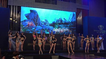 韩国小姐模特大赛,泳装环节完整版