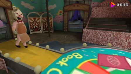 冰淇淋怪人小猪佩奇MOD,罗德站在美丽的舞台,表演时刻开始了!