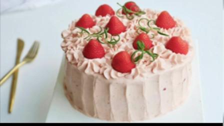 草莓奶油蛋糕的做法,手把手教你做可美味了。