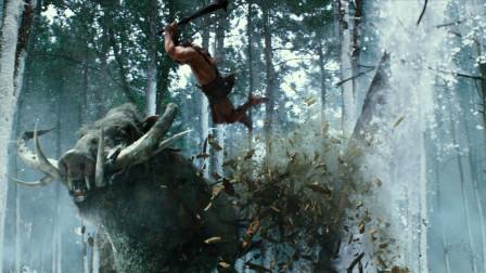 堪称人类极限的男人,消灭上古神兽,一人单挑千军万马
