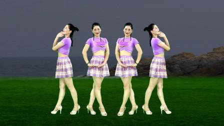 情歌广场舞《谁家的姑娘》你像花朵一样吐露着芬芳,歌醉舞美好看