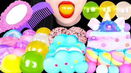 童话风的甜品,美味和可爱造型结合,吃起来会不舍得吗?