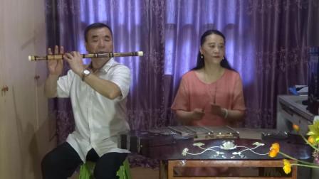 笛子扬琴小合奏《渭水秋歌》扬琴叶彬,笛子张永纯。