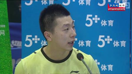 20130115直通巴黎第二阶段 第1天 王励勤vs马龙 赛后采访 乒乓球赛